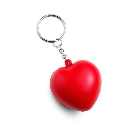 1023 Stress heart keyring