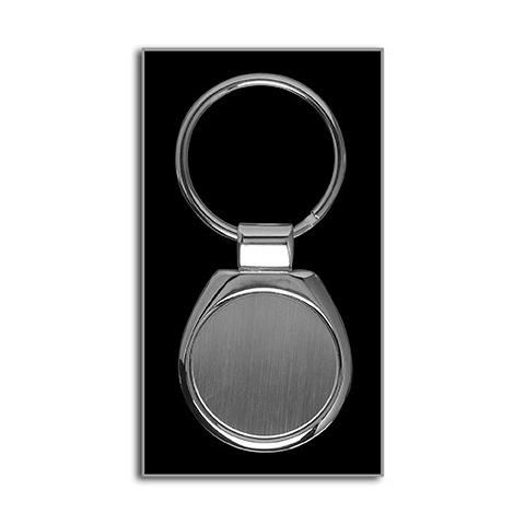 Round metal keyrings