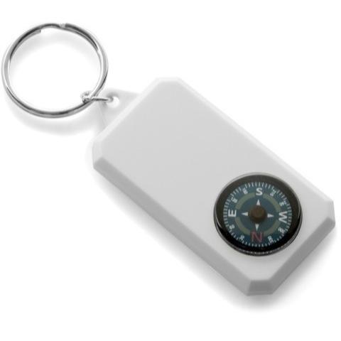 Plastic compass keyrings