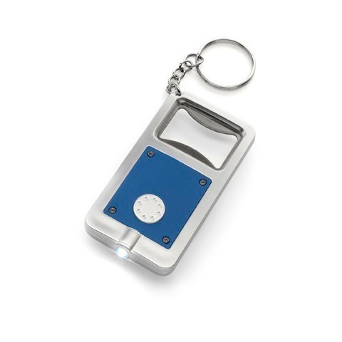 Bottle opener keyrings with torch
