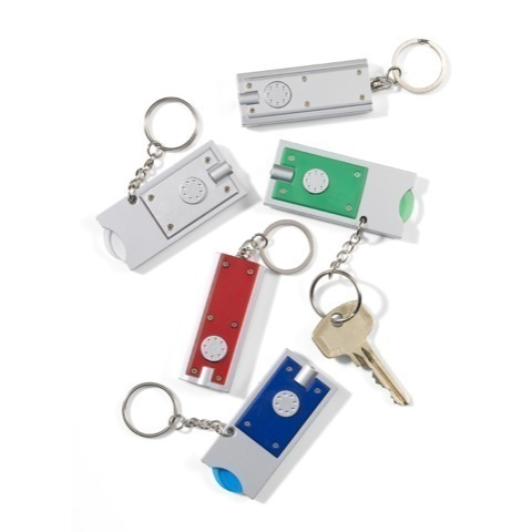 Keyrings with light