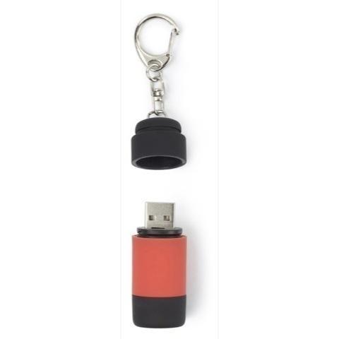 Rechargable USB pocket torch keyrings
