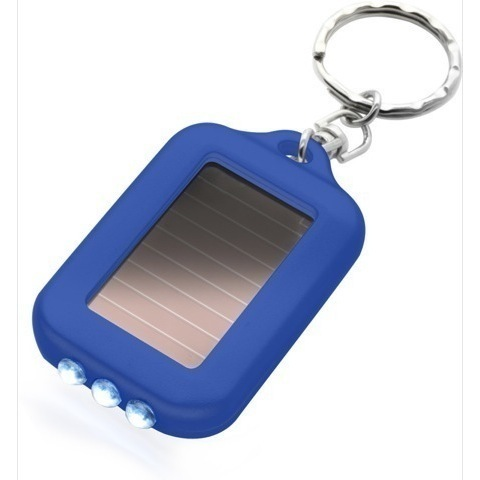 1067 Solar powered torch keyrings