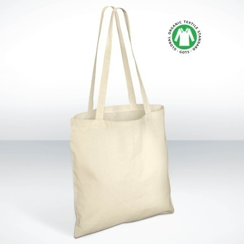 1110 Organic cotton shopper