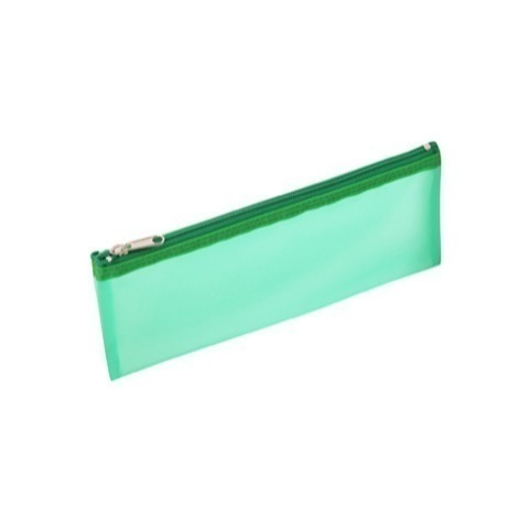 See thru PVC pencil case