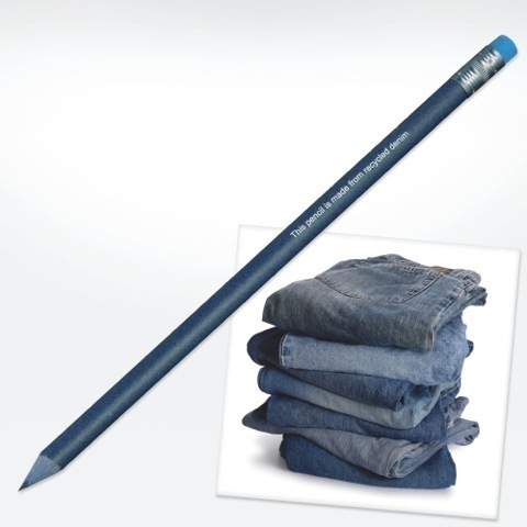 Denim pencil