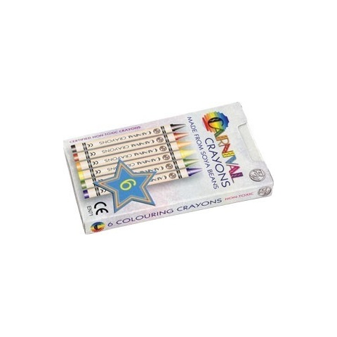 1859 Carnival crayons - 6 pack