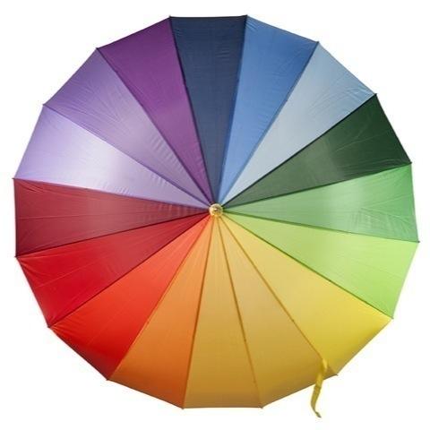 1973 Multi coloured umbrella