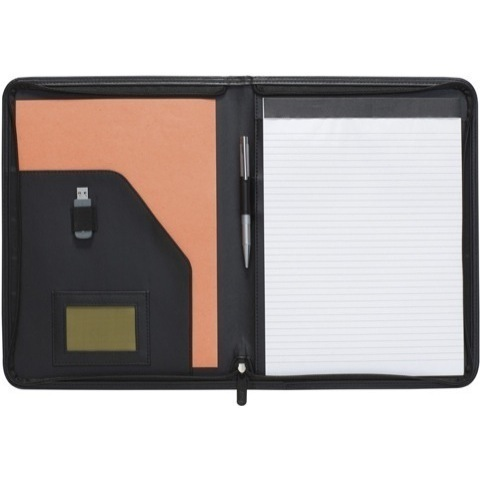 New Dartford A4 Zipped Folder