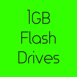 1GB Flash Drives