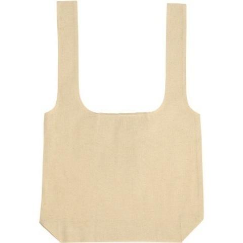 Sandhurst\' 4.5oz Fold-Up Cotton Tote/Shopper.