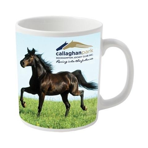 Durham millenium coated mugs with full colour printing - 330ml