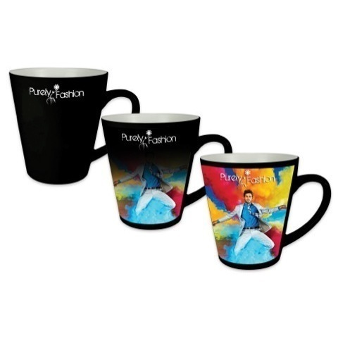 Wow heat change full colour printed Deco mugs - 380ml