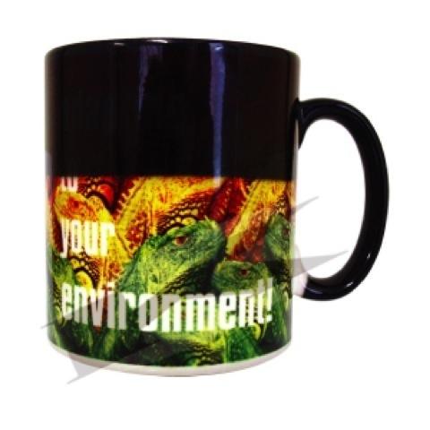 Wow heat change full colour printed Durham mugs - 330ml