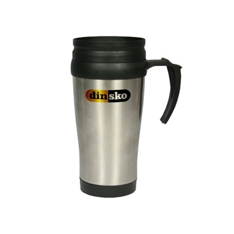 Stainless steel travel mug - 400ml