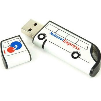 256mb Curved USB sticks