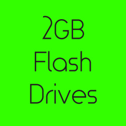 2GB Flash Drives