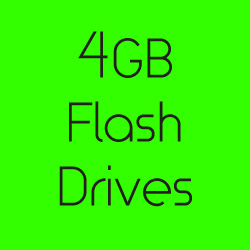 4GB Flash Drives