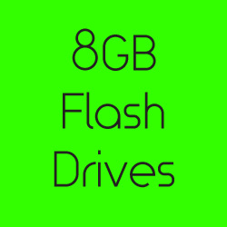8GB Flash Drives