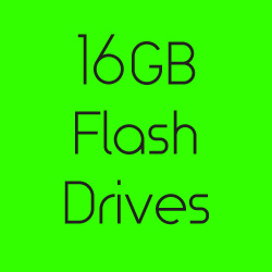 16GB Flash Drives
