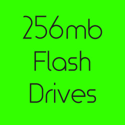 256mb Flash Drives